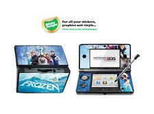 Disney Frozen Carcasa de Vinilo Adhesivo para Nintendo 3DS