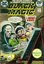 Black Magic 2, 8 VF Joe Simon Jack Kirby 1973 Horror DC