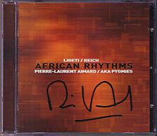 Pierre-Laurent AIMARD Signiert AFRICAN RHYTHMS Steve Reich Ligeti AKA PYGMIES CD