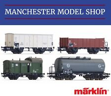 Märklin HO 1:87 4-piece set DB Goods train era III NEW UNBOXED