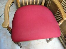 "Stretch Seat Covers for Chairs, 4 PC Set Burgundy elasticized 22""X21 unstretched"