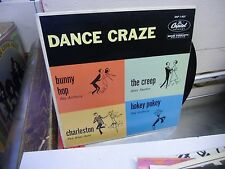 Dance Craze 45 RPM Capitol Records VG+ [Ray Anthony Stan Kenton Pee Wee Hunt]