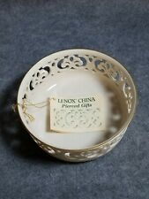 Tracery Collection By Lenox Pierced China Bowl, 6 1/2""