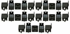 25 Pack 30/40 Amp 12V Bosch Style Spdt Relay + Free Same Day Priority Shipping!