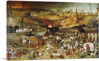 ARTCANVAS The Triumph of Death 1562 Canvas Art Print Pieter Bruegel the Elder