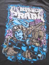 The Devil Wears Prada Black White Blue Soldier Guns T Shirt Size L Large