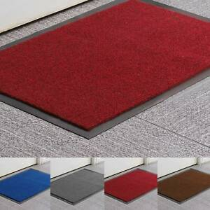 Heavy Duty Non-Slip Rubber Barrier Mat Large & Small Rugs Back Door Hall Kitchen