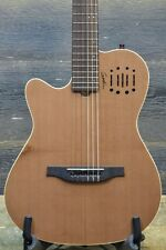 "Godin Multiac Nylon Encore SG Left ""SF"" Electro-Classical Guitar w/Bag #16192161"