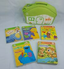LEAPFrog TAG Junior Lot of 5 books and case