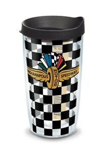 Indianapolis Motor Speedway Tervis 16 oz. Tumbler w / Lid New Indy 500 Brickyard