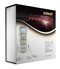 truMedic TENS Unit Electronic Pulse Massager w. Electrodes & Pads & FREE Bonuses