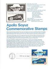 #7514 Apollo-Soyuz Stamps #1569-70 Souvenir Page
