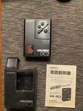 Sony Walkman WM-DC2 Dolby B/C, voll funktionsfähig!