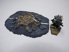 TERRAIN SCENERY WARHAMMER 40K  ASPHALT CRATER (A)  - INFINITY - WARMACHINE