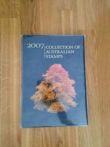Collection of Australian Stamps 2007 - Briefmarkenjahrbuch Australien 2007