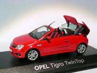 Opel TIGRA TwinTop  au 1/43 de Minichamps