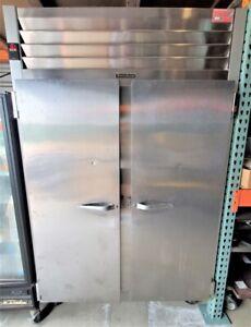 Traulsen G22010 Commercial Reach In 2 Door Freezer Stainless