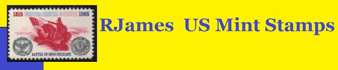 RJames US Mint Stamps