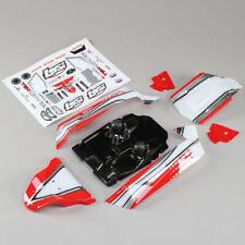 Losi LOS230051 Body Set Red : Tenacity Desert Buggy