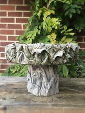 Piccolo Ivy Uccello Bagno / Alimentatore (solo parte superiore) Giardino ornamentale LATTICE solo MUFFA