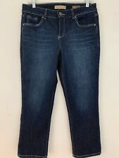 Vintage America Blues Boho Crop Jeans Size 8 / 29 Blue Denim Straight Leg