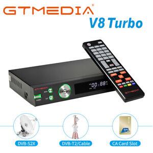GTMEDIA Tivusat Decoder HD DVB-S2/S2X/T/T2/Cavo Satellite Ricevitore HEVC 10 bit
