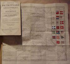 VOSGIEN - NOUVEAU DICTIONNAIRE GEOGRAPHIQUE OU DESCRIPTION ... 1819