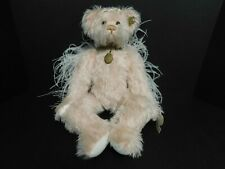 "Annette Funicello ""Faith"" Pink Mohair Angel Bear with Tags"