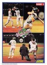 1990 Score #702 WS Game 3 NM-MT