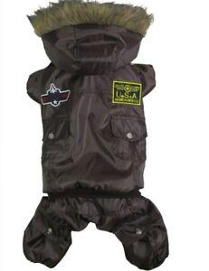 Medium & Big Dog Pet Clothes Apparel Hoodie Jumpsuit Pants Waterproof Jacket
