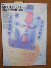 Book/Magazine: Mobile Suit Illustrated 2003 Bandai Mechanical Designs