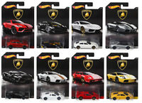 HOT WHEELS LAMBORGHINI DIECAST COLLECTION CARS DWF21 SCALE 1:64 CHOOSE ONE
