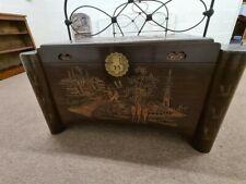 More details for large carved camphor wood blanket box