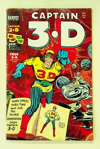 Captain 3-D #1 (Dec 1953, Harvey) - Good