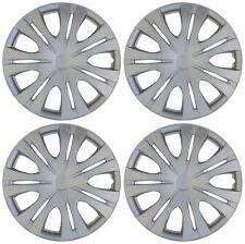 "4 pc Hub Cap ABS Silver 16"" Inch Rim Wheel Cover OEM Replica Set Caps Covers"