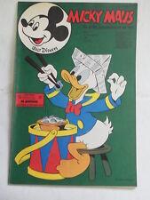 Micky Maus 1971 Nr. 3 mit MMk-Zeitung ohne Klappseiten Ehapa Walt Disney KR-P