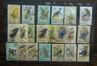 Barbados 1979 Birds set complete to $10 Fine Used