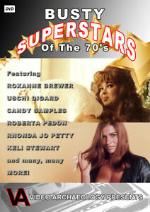 70's Busty Pin-Ups Uschi Digard Candy Samples Roxanne Brewer and MORE!
