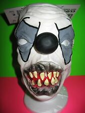 EVIL CLOWN MASK - ADULT - SOFT VINYL - BRAND NEW WITH TAG !