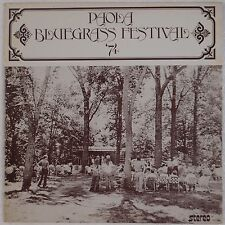 PAOLOA BLUEGRASS FESTIVAL: '74 Scarce PRIVATE Missouri Kansas VINYL LP VG++