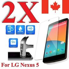 Premium Clear Screen Protector Cover for LG Nexus 5 / 5X (2 PACK)