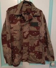 """Military Issued Men's Shirt Medium R Camouflage Desert Chest 37-41"""" Desert Storm"""