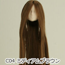 Obitsu Doll 27cm hair implantation head for Whity body (27HD-F01WC04) M BRN