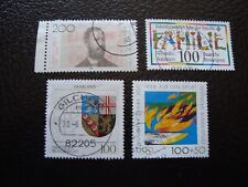 ALLEMAGNE (rfa) - timbre yvert et tellier n° 1542 1543 1544 1547 obl (A5)stamp