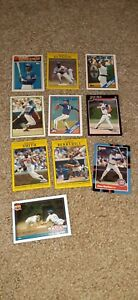 Chicago Cubs Lot of 10 Baseball Cards