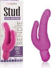 double dildo rosa sexy shop sex toys Vibratore doppio anale vaginale realistico