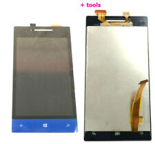 Full LCD Display + Touch Screen Digitizer Assembly for HTC Windows Phone 8S Blue
