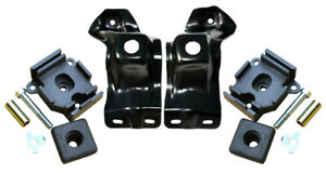 67-72 Chevy/GMC C10 Truck 396/402 BBC Engine Frame Perches & Rubber Motor Mounts