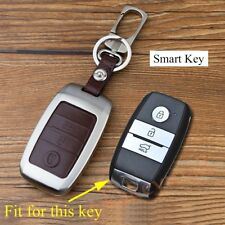 Fit For KIA K3 K4 K5 Sportage Sorento 3 Buttons Key Case Shell Holder Bag Cover