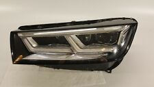 2017 2018 2019 AUDI Q5 SQ5 HEADLIGHT DRIVER LEFT FULL LED 17-19 OEM 80A941033B